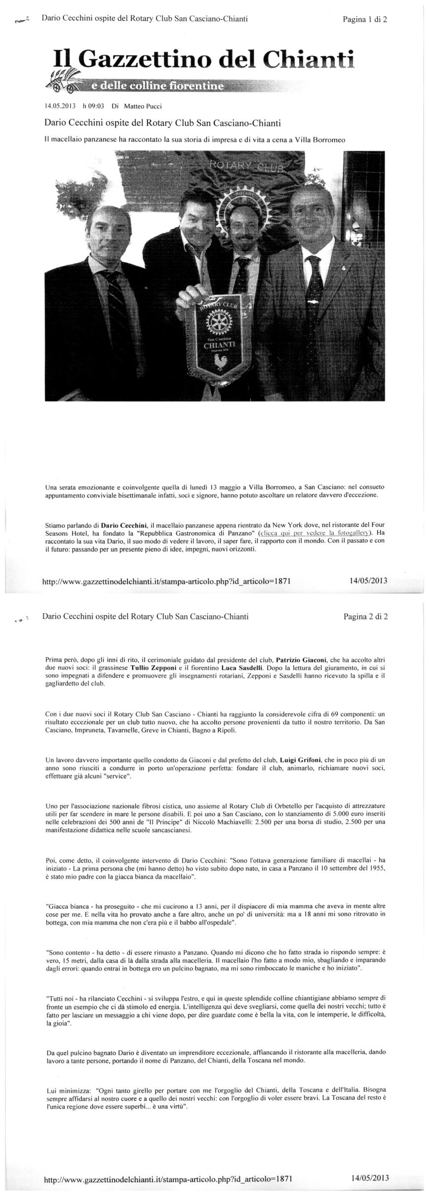 Gazzettino_14 Maggio 2013